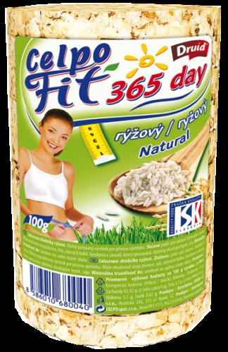 Celpo Fit365 day Ryžové celozrnné chlebíčky 100 g
