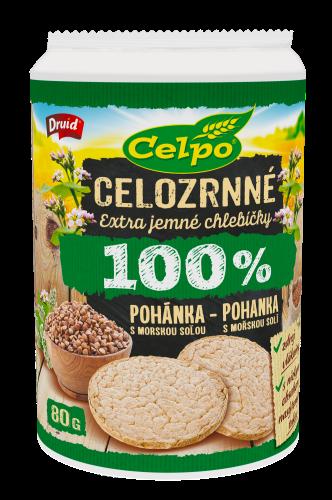 100 % Natural Pohánka s morskou soľou 80 g